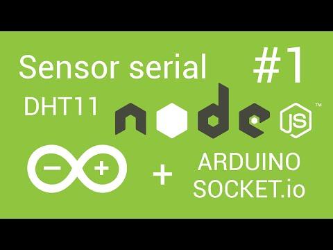 Node js + Arduino - #1 Sensor temperatura puerto serie en tiempo real