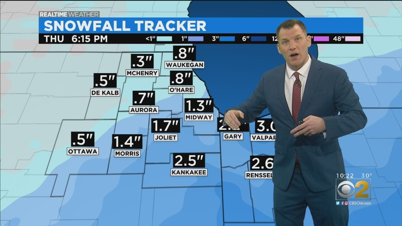 Chicago Weather: New Models Show Winter Storm Dipping South