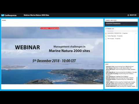 EUROPARC Webinar Managing Marine Natura 2000 sites