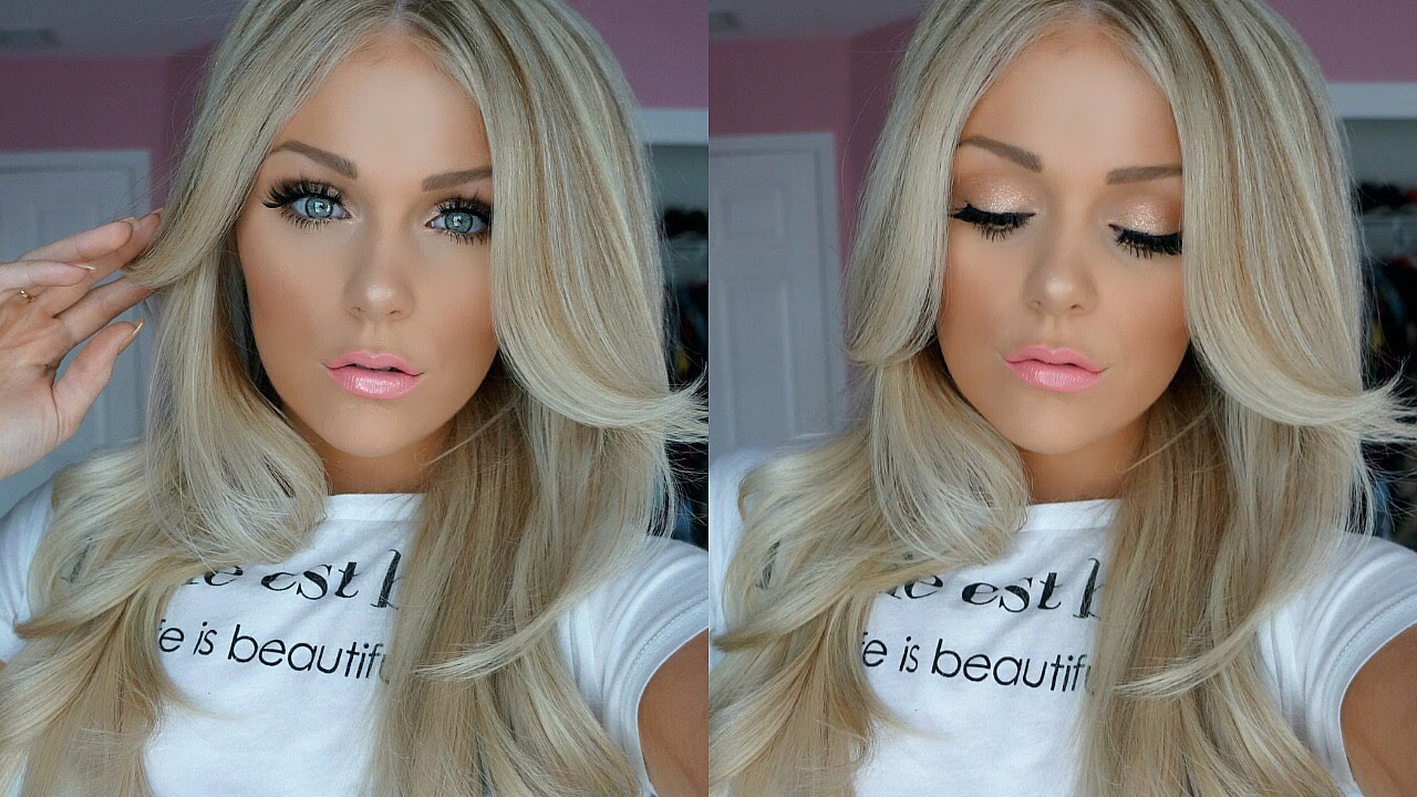 Easy Everyday Spring Makeup Tutorial 2016 Youtube
