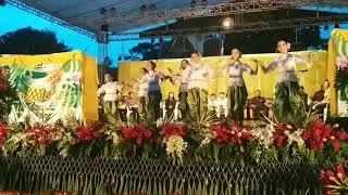 การแสดงโรงเรียนติกาหลังนาฏศิลป์ไทย เปิดงานสับปะรด ครั้งที่ 1