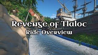 Planet Coaster - Revenge of Tlaloc - Ride Overview