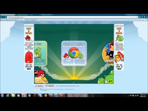 Descargar Angry birds para pc (google chrome) gratis HD 2011