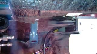 Рециркуляция воздуха, установка заслонки с DVD привода на ваз 2114