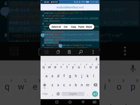 [APK Editor Pro] How to remove permissions