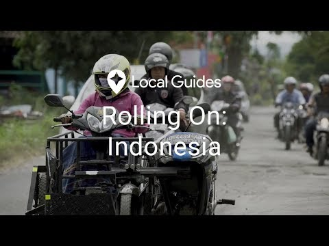 Driving a Wheelchair Motorcycle in Indonesia - Rolling On, Episode 2
