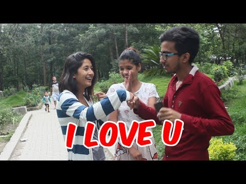 I LOVE YOU to Girls in Kathmandu 2017 || New Nepali Prank ||
