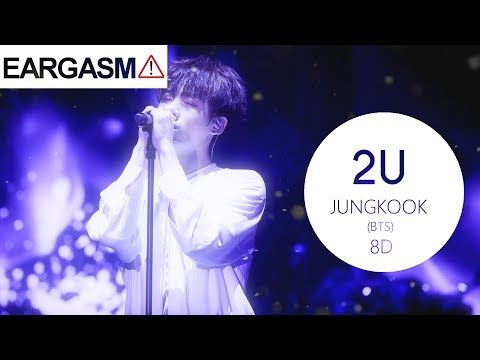 ⚠️BTS (방탄소년단) JUNGKOOK - 2U [8D USE HEADPHONE] 🎧