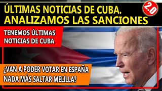 ÚLTIMA HORA CUBA. TENEMOS NOTICIAS.