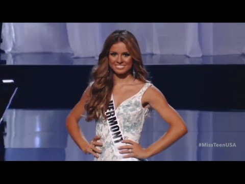Miss Teen USA 2016 - Evening Gown Competition (Preliminary)