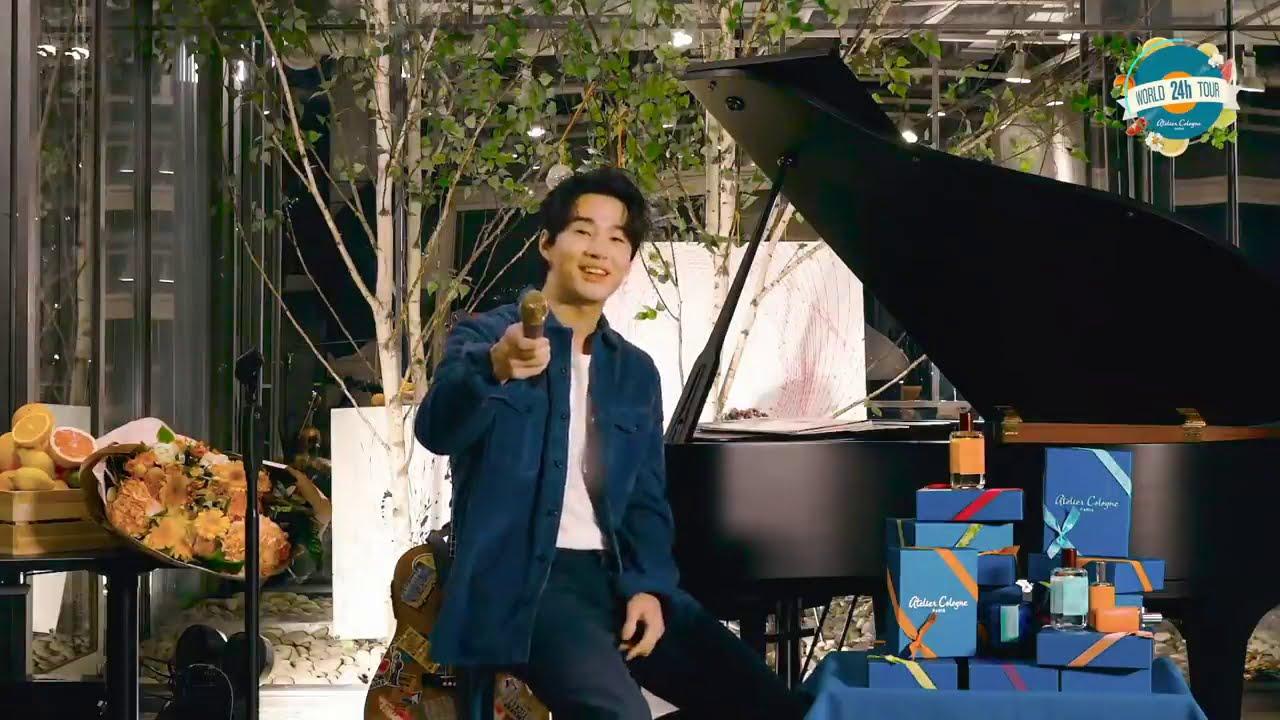 Henry Lau ( 헨리 - 刘宪华) - Atelier Cologne 24h World Tour Festival