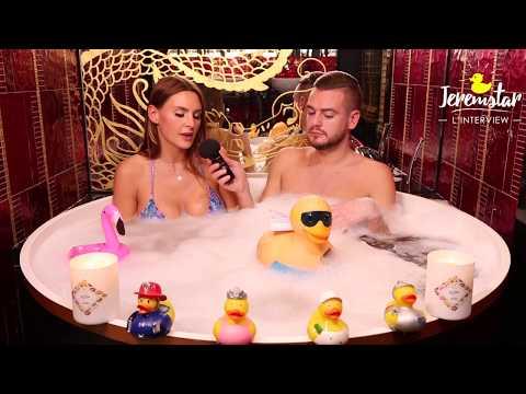 Marie (Secret Story 11) dans le bain de Jeremstar - INTERVIEW