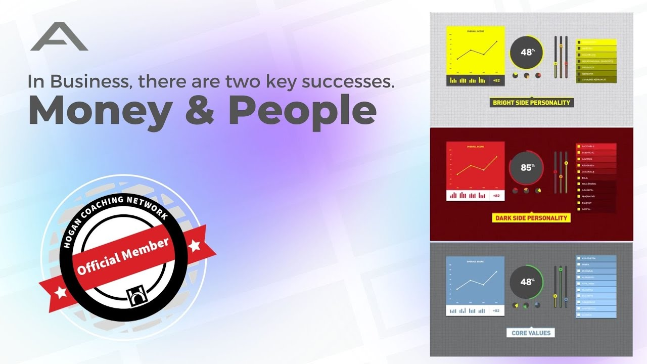 In business, there are two keys to success, Money and People.