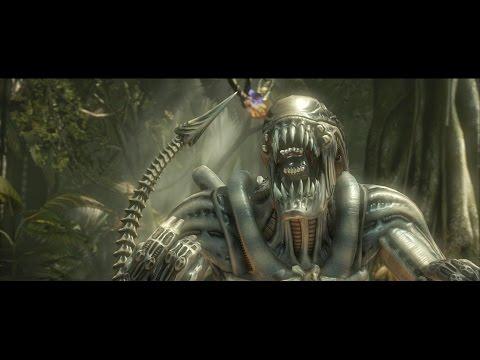 Mortal Kombat X : Alien / Xenomorph All Intro Dialogues (MKX) |