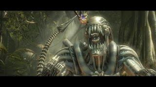 Mortal Kombat X : Alien / Xenomorph All Intro Dialogues (MKX)