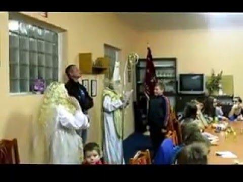 Na hasičárnu dorazil Mikuláš z anděly a čerty .   Rataje 2015