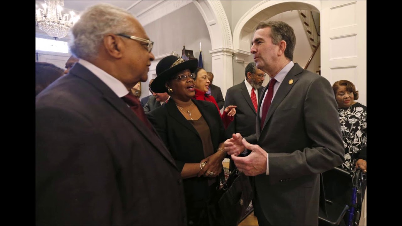 Virginia Governor Ralph Northam Meets With Civil Rights Leaders