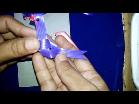 చిలుక అల్లటం //Diy Parrot With Fish Tape In Telugu//krishna  Arts