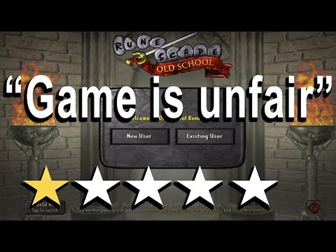 Funny OSRS Mobile App Reviews (1 Star Ratings) Oldschool Runescape