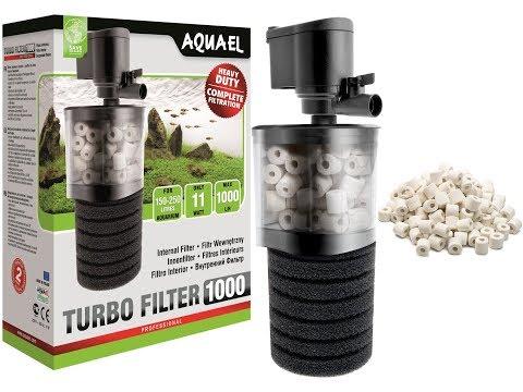 Aquael Turbo Filter 1000. Обслуживание внутреннего фильтра