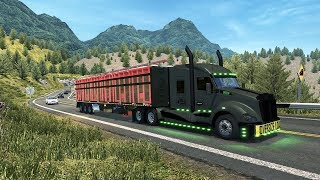ETS Mods 1.34 Kenworth T680 El General México Ruta Extrema Tehuacan
