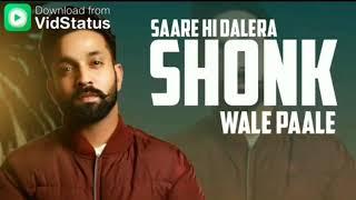 Veham // Dilpreet Dhillon ~ New Full screen Punjabi status Song // STATUS KING