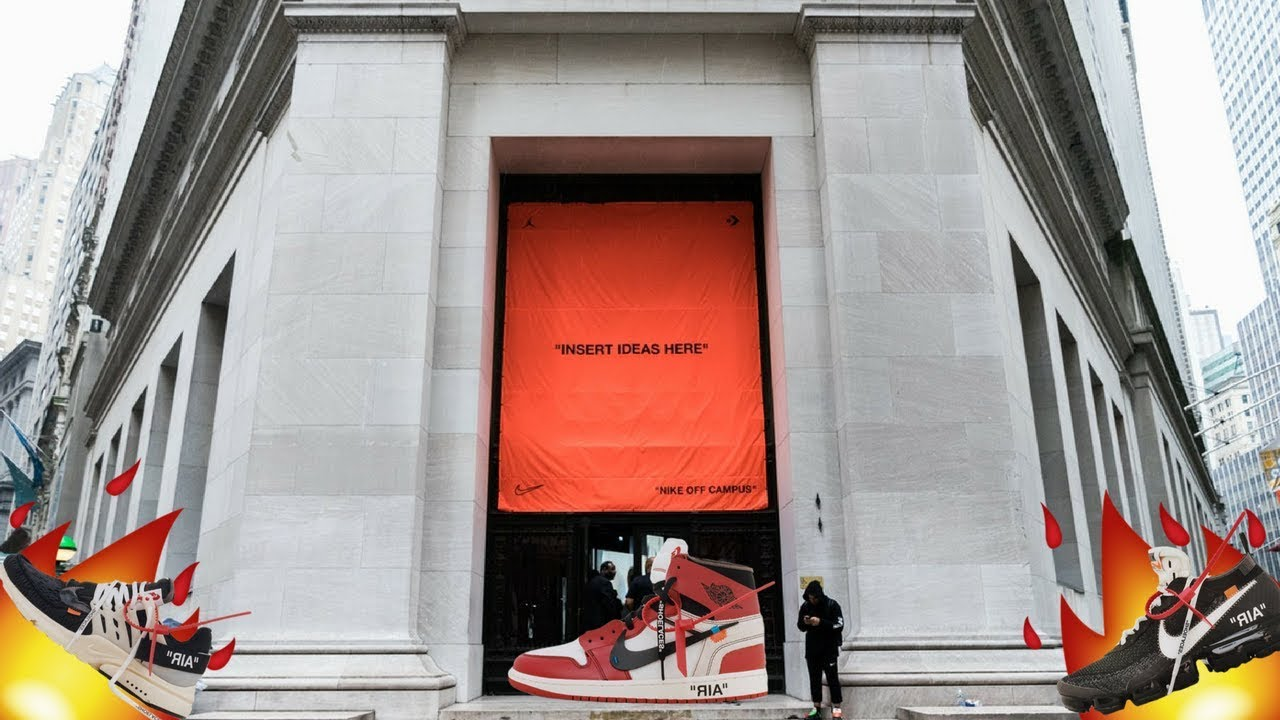 c4ecc1bd7966 Off White x Nike Event New York VIRGIL ABLOH (AIR JORDAN 1 OFF WHITE IN  HAND)