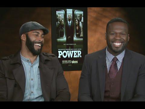 Hilarious 50 Cent & Omari Hardwick ! Power Season 2 on Starz!