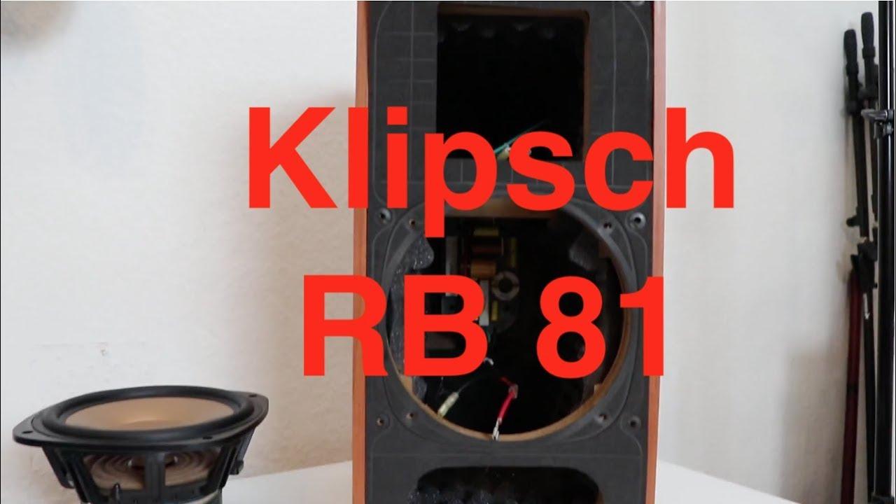 klipsch rb 81 a look inside youtube. Black Bedroom Furniture Sets. Home Design Ideas