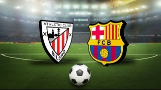 Athletic Club - Barcelona   full match Spain Copa del Rey 05.01.2017
