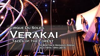 Cirque du Soleil Varekai Opens at Boston Agganis Arena