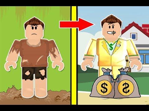 شاب فقير اصبح مليونير فى لعبة roblox !! 💰💪