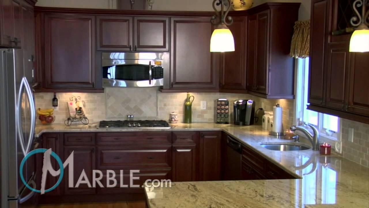 Astoria Granite Kitchen Countertops II  Marblecom  YouTube