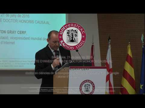 Acte d'investidura del doctor Honoris Causa de la Universita