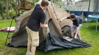 Coleman 8 person 14x10 instant tent test