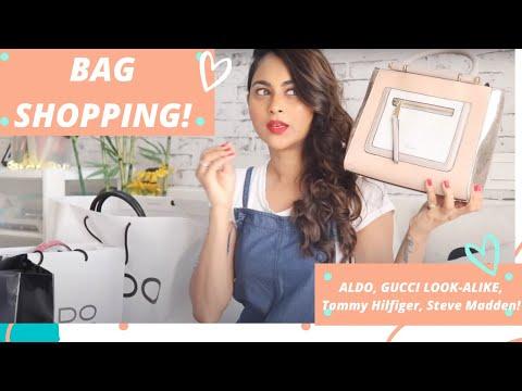 Bag shopping| Aldo, Tommy Hilfiger, Steve Madden| Haul