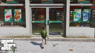 GTA 5 REAL LIFE CHILD MOD #3-GROCERY SHOPPING