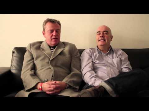 "Interview with Madness' Graham ""Suggs"" McPherson & Chris Foreman, pre-midem festival 2013"