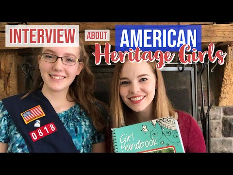American Heritage Girls | Encourages Faith & Empowering For Girls!