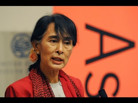 Burma / Myanmar in Transition: A Discussion with Aung San Suu Kyi