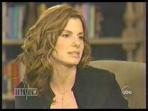 Sandra Bullock  on The View