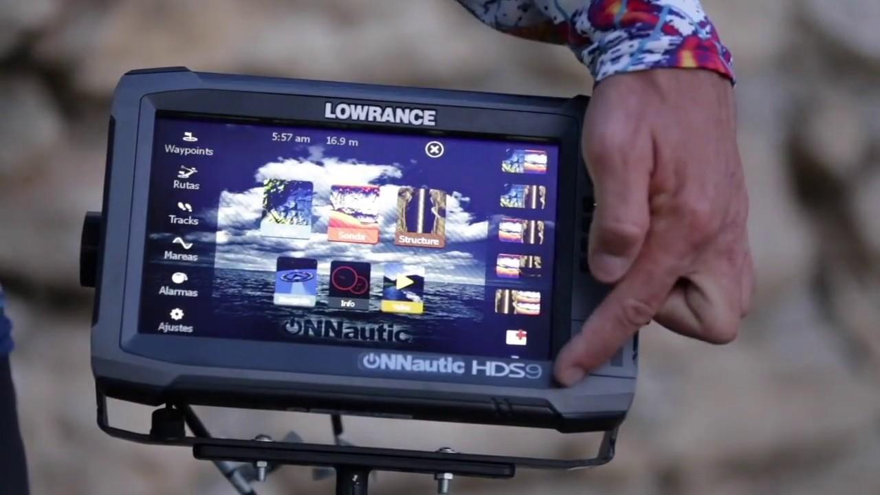 ONNautic: Tutorial de como dividir de Sonda CHIRP Alto / Medio y DownScan   Lowrance HDS y Elite Ti