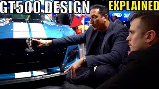 2020 SHELBY GT500 Designers Explain Why they did This!