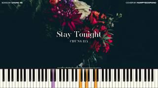 청하 (CHUNG HA) - Stay Tonight [PIANO COVER]