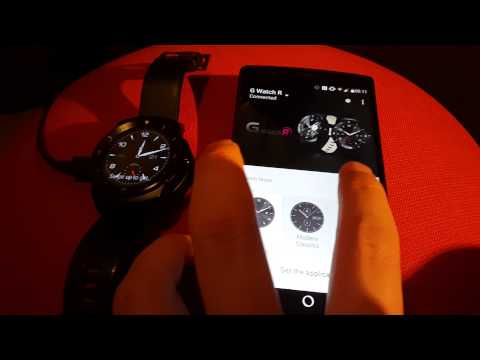 Oppsett LG G Watch R med Android Wear 5.1