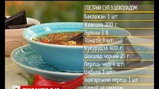 Гострий суп із шоколадом - рецепти Сенічкіна