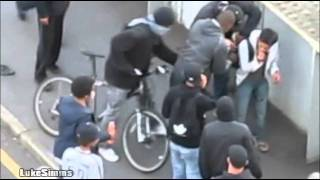 London Riots 2011 - Man Helped and Then Robbed. (Malaysian student / Asyraf Haziq)