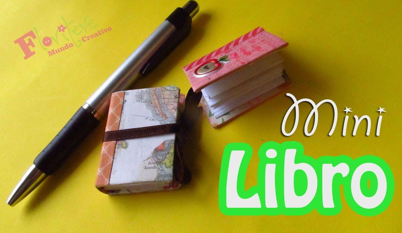 Como hacer un Mini Libro reciclado para el día del maestro