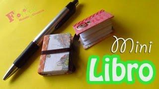 Como hacer un Mini Libro reciclado para el día del maestro - floritere - 2013