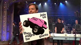 """They Might Be Giants - """"Can't Keep Johnny Down"""" on Late Night, 2011-07-27 [1080p60]"""